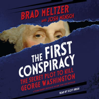 The First Conspiracy: Young Reader's Edition by Brad Meltzer audiobook