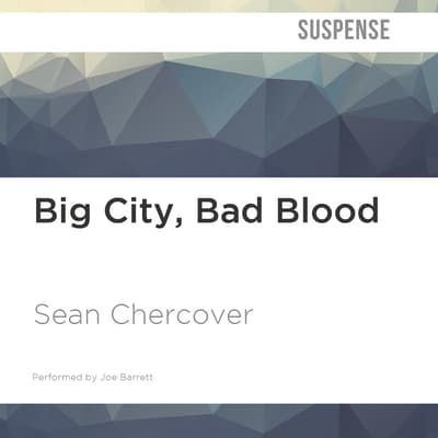 Big City, Bad Blood by Sean Chercover audiobook