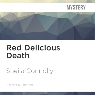 Red Delicious Death by Sheila Connolly audiobook