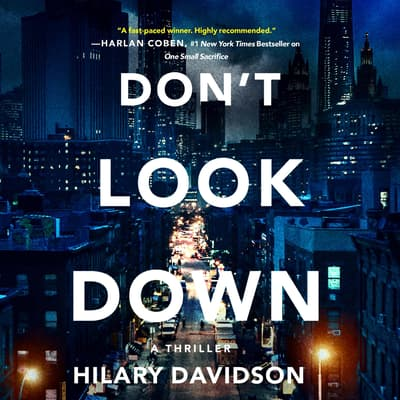 Don't Look Down by Hilary Davidson audiobook