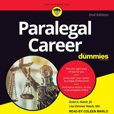 Paralegal Career For Dummies by Lisa Zimmer Hatch audiobook