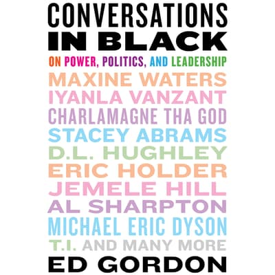 Conversations in Black by Ed Gordon audiobook
