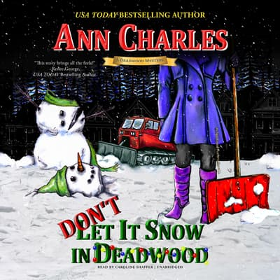 Don't Let it Snow in Deadwood by Ann Charles audiobook
