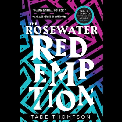 The Rosewater Redemption by Tade Thompson audiobook