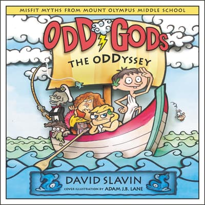 Odd Gods: The Oddyssey by David Slavin audiobook