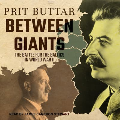 Between Giants by Prit Buttar audiobook