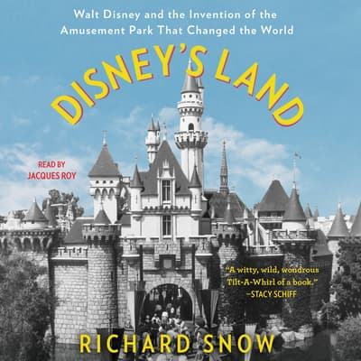 Disney's Land by Richard Snow audiobook