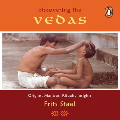 Discovering the Vedas by Frits Staal audiobook