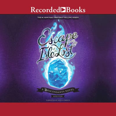 Escape from the Isle of the Lost by Melissa de la Cruz audiobook