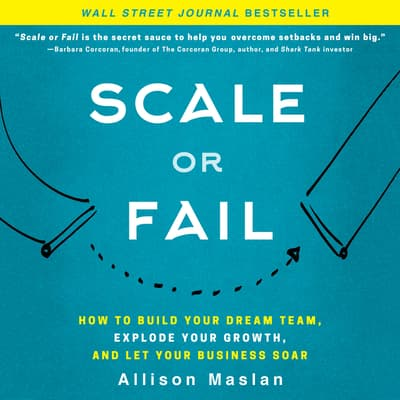 Scale or Fail by Allison Maslan audiobook