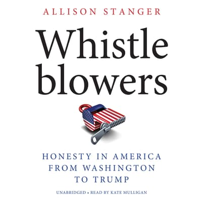 Whistleblowers by Allison Stanger audiobook