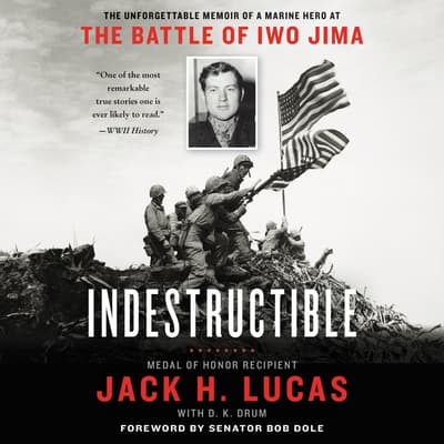 Indestructible by Jack H. Lucas audiobook