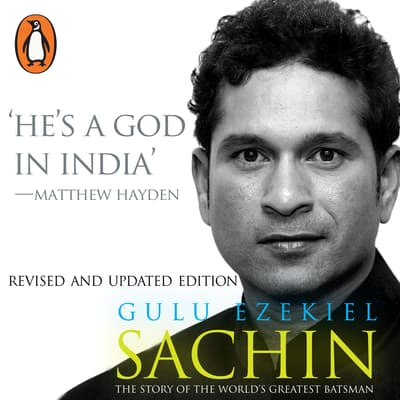 Sachin by Gulu Ezekiel audiobook