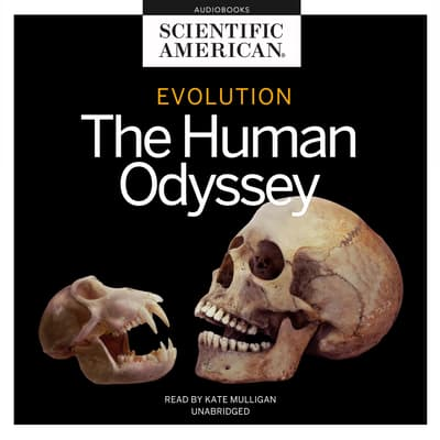 Evolution by Scientific American audiobook