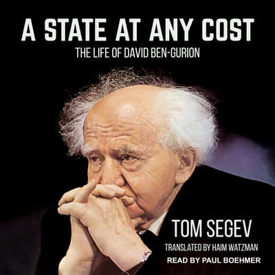 A State at Any Cost by Tom Segev audiobook