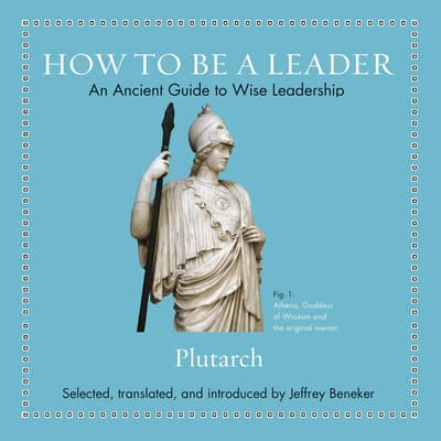 How to Be a Leader by Plutarch audiobook