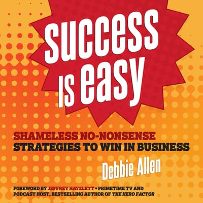 Success is Easy by Debbie Allen audiobook