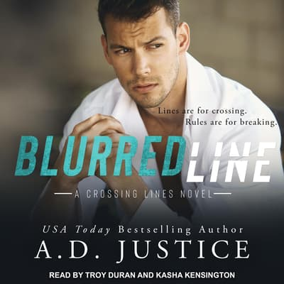 Blurred Line by A.D. Justice audiobook