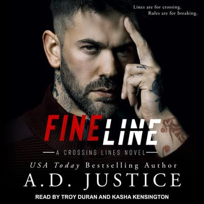 Fine Line by A.D. Justice audiobook