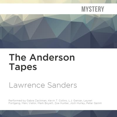 The Anderson Tapes by Lawrence Sanders audiobook