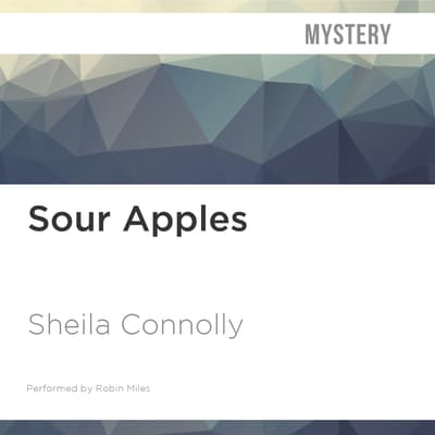 Sour Apples by Sheila Connolly audiobook