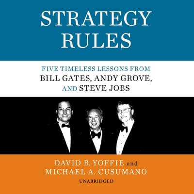 Strategy Rules by David B. Yoffie audiobook