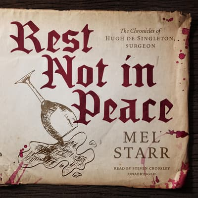 Rest Not in Peace by Mel Starr audiobook