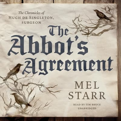 The Abbot's Agreement by Mel Starr audiobook