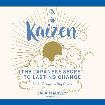 Kaizen by Sarah Harvey audiobook
