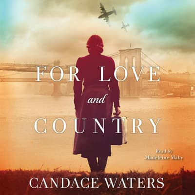 For Love and Country by Candace Waters audiobook