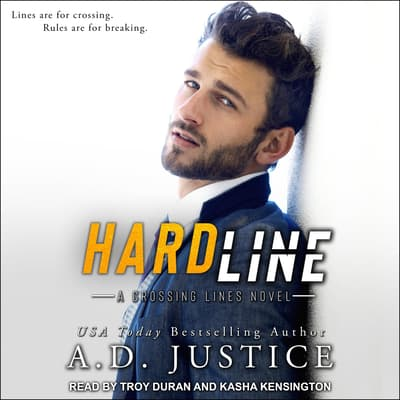 Hard Line by A.D. Justice audiobook