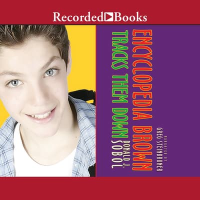 Encyclopedia Brown Tracks Them Down by Donald J. Sobol audiobook