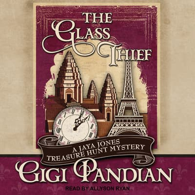 The Glass Thief by Gigi Pandian audiobook