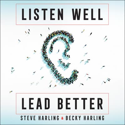 Listen Well, Lead Better by Becky Harling audiobook