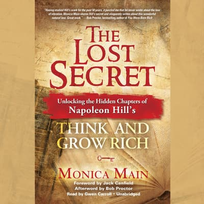 The Lost Secret by Monica Main audiobook
