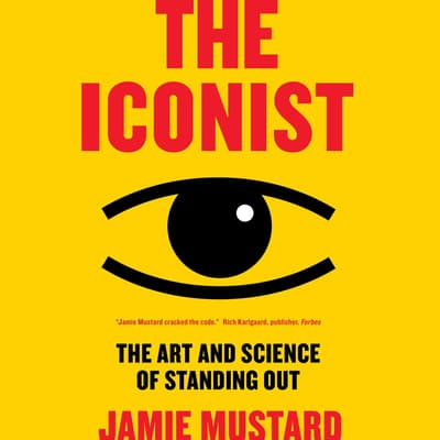 The Iconist by Jamie Mustard audiobook