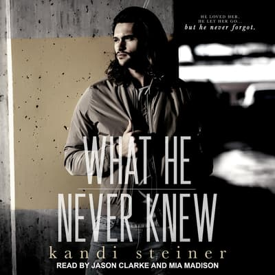 What He Never Knew by Kandi Steiner audiobook