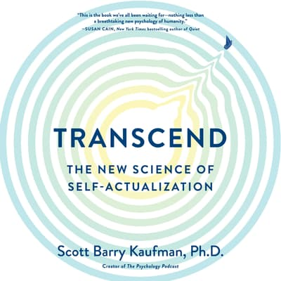 Transcend by Scott Barry Kaufman audiobook