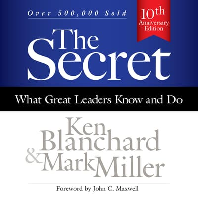 The Secret by Mark Miller audiobook