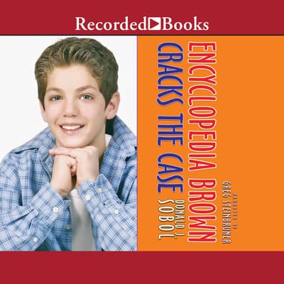 Encyclopedia Brown Cracks the Case by Donald J. Sobol audiobook