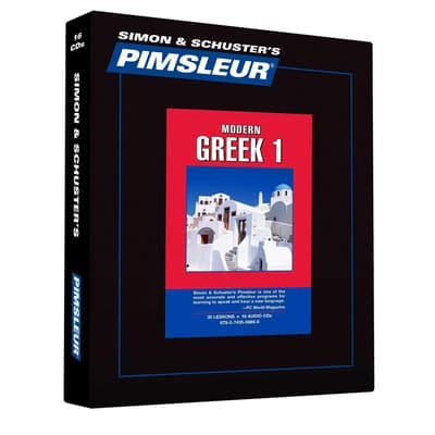 Pimsleur Modern Greek Level 1 by Paul Pimsleur audiobook