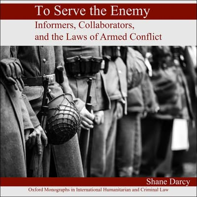 To Serve the Enemy by Shane Darcy audiobook
