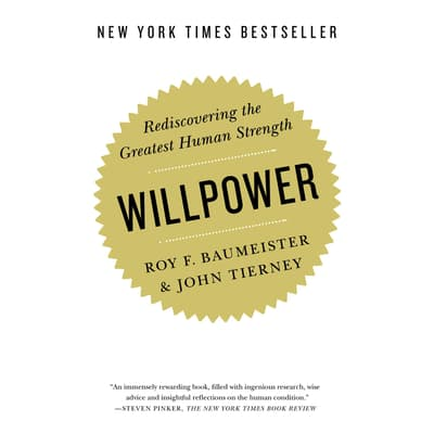 Willpower by John Tierney audiobook