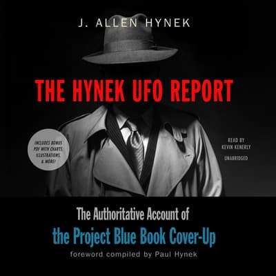 The Hynek UFO Report by J. Allen Hynek audiobook