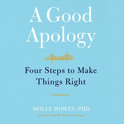 A Good Apology by Molly Howes audiobook