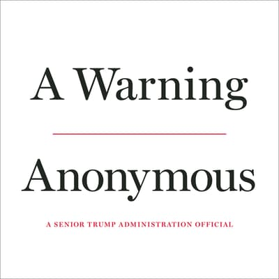 A Warning by Anonymous audiobook