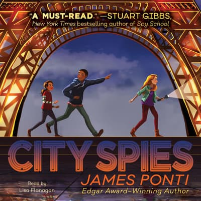 City Spies by James Ponti audiobook