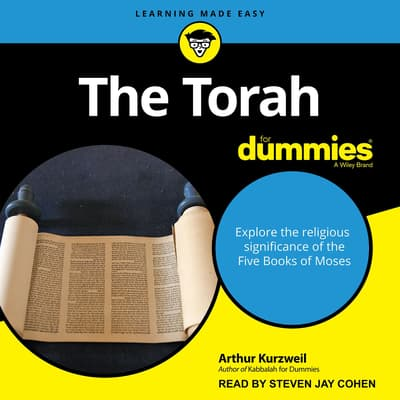 The Torah For Dummies by Arthur Kurzweil audiobook