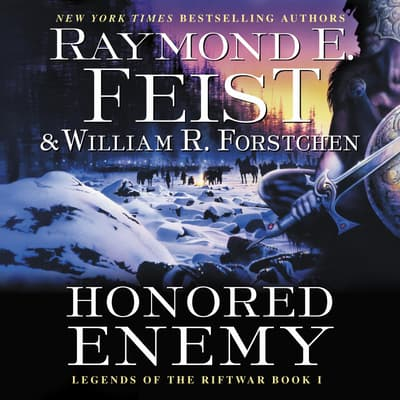 Honored Enemy by Raymond E. Feist audiobook