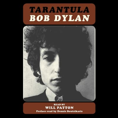 Tarantula by Bob Dylan audiobook